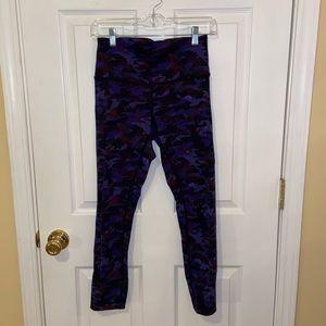 Lululemon Purple Camo Leggings 6